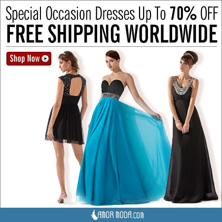 Special Occasion Dresses Up To 70% OFF & FREE Shipping
