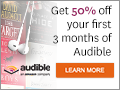 Listen to a bestseller for $7.49 at audible.com!