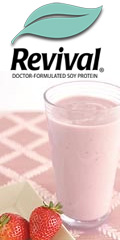 Get a 30-day risk-free supply of Revival Soy Bars