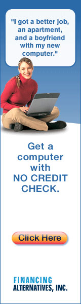 No credit check, bad credit OK!