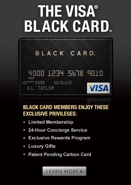 Experience the Exclusive Black Card