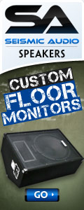 Great Deals on Floor Monitors @ Seismic Audio