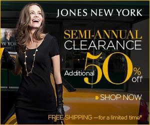 Jones New York Sale - Extra 50% Off Sale Items