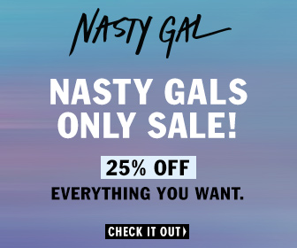 Nasty Gal Friends & Family 25% off