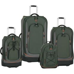 -Timberland Claremont .-4 Piece Wheeled Luggage Set Now Only $259.97 Org. $1,360.00 Plus Free Shipping Use Promo Code CMTB at checkout