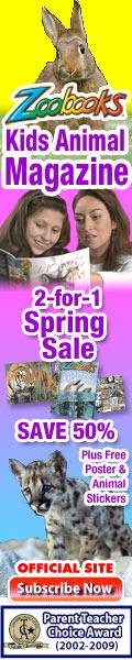 Save up to 67% on Zoobooks Magazine