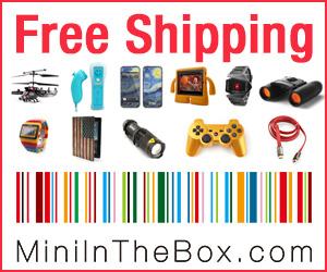 MiniInTheBoxは安い価格で豊富な種類のクールなガジェット、電子製品をご提供しています。50%割引かつ送料無料の今のうちにお気に入りの新しいクールなガジェットを見つけてください。