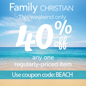 40% off one item with coupon code BEACH