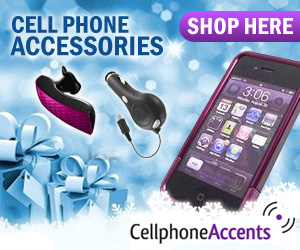 CellphoneAccents.com - Holiday Banner
