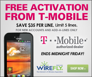 Wirefly: Galaxy S 4G + FREE Activation
