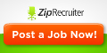 Post your jobs free with Zip Recrruiter!