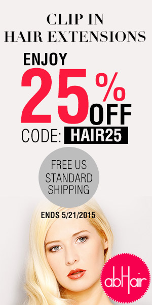 25% off on clip in hair extensions +FS, code HAIR25