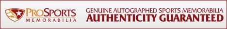 Pro Sports Memorabilia - Authenticity Guaranteed