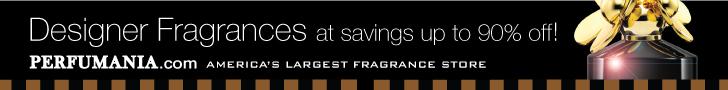 Designer fragrances up to 90% off!