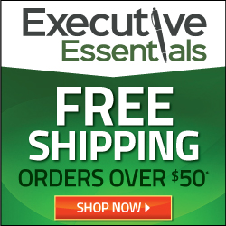 Executive Essentials Free Shipping Offer