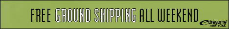 Free Ground Shipping ALL Weekend