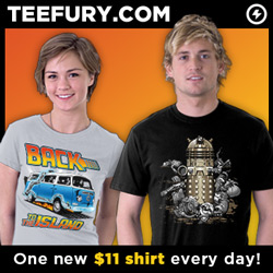 TeeFury.com: Limited Edition, $11 Shirts