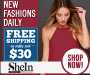 Free Shipping on orders over $30 at Shein.com
