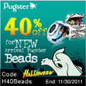 Halloween 40% OFF for New Arrival Pugster Beads