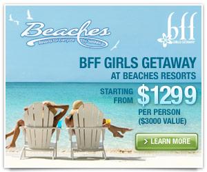 Beaches Friends Forever Getaway