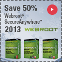 Webroot SecureAnywhere Complete 2012 coupon