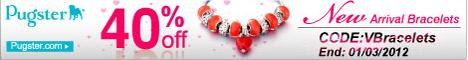 Pugster 40% OFF New Arrival Bracelets
