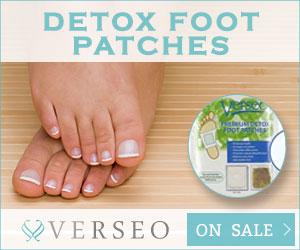 Verseo.com Detox Foot Patches