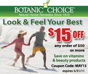 Save $15 on Vitamins and Beauty Products
