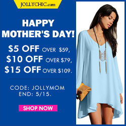 250x250 Mother's Day Coupons - Ends May 15th
