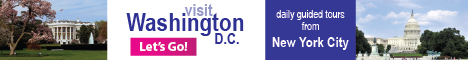 Visit Washington D.C. Daily tours from NYC