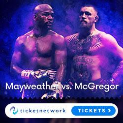 Mayweather vs McGregor Tickets