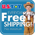 US Toy Company - Everyday Free Shipping,No Minimum