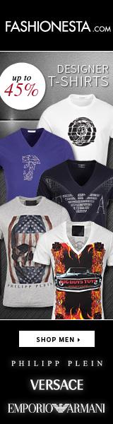 Designer T-Shirts: Versace, Armani, Philipp Plein