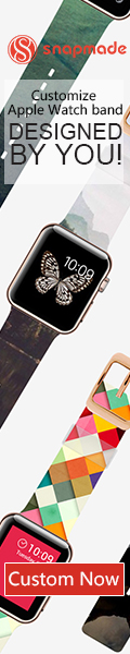 Snapmade 2015 - Custom Apple Watch Bands - 120*600