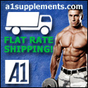 A1 Supplements Flat Rate Shipping!