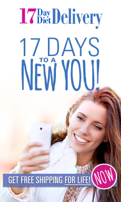 17 Days To A New You - Jump Start Your Weight Loss Plan - Inexpensive Perfect Whole-Day Meals