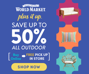 Save up to 50% on ALL Outdoor!