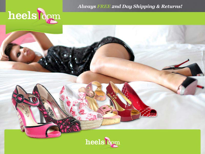Heels.com - Free 2nd Day Shipping