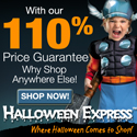 110% Price Guarantee at Halloween Express