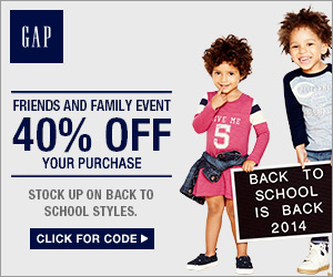 Gap Friends & Family Sale: Take 40% Off Your Purchase!