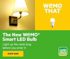 WeMo Smart LED Light Bulbs Now Available