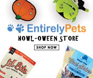 Get $10 off $90 or more at EntirelyPets with coupon code