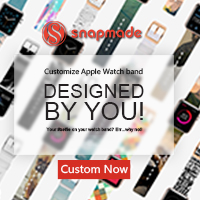 Snapmade 2015 - Custom Apple Watch Bands - 200*200
