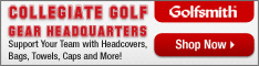 NCAA Golf Gear