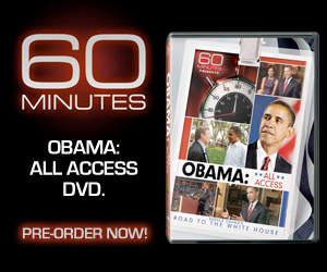 Obama on 60 Minutes DVD