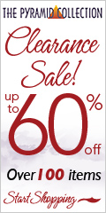 Clearance sale at Pyramid Collections up to 60% OF