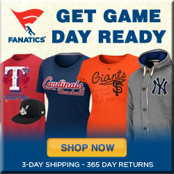 Shop for officially licensed MLB Game Day Gear!