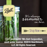 Ball canning jar image