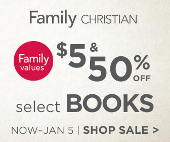 $5 and 50% off Select Books