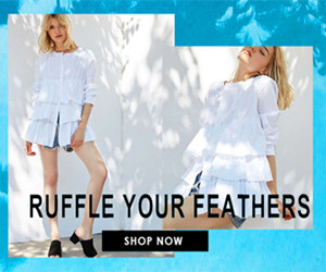 RUFFLE YOUR FEATHERS